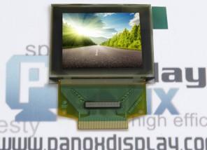 供应1.27寸彩色OLED显示屏