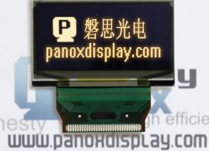 供应2.4寸黄色OLED显示屏